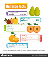 Healthy Nutrition Chart Eating Plate Concept Infographic