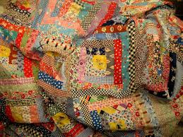 1000+ images about Log Cabin Quilts on Pinterest | Quilts, Doll ... & 1930s log cabin feedsack quilt top Adamdwight.com