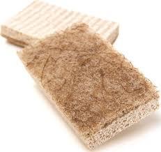 3m scotch brite 97050 greener clean natural fiber non scratch scrub sponges 2