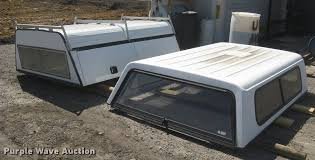 2) pickup truck toppers | Item DQ9686 | Wednesday October 2...