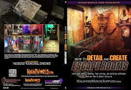 haunted house supplies com how to detail and create escape rooms