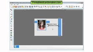 Youtube Id Badge Generator Card Design Free Tool Software Download - Maker Freeware Designer Cards