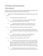writing about theme essay writing about theme by 4 pages 4 03 developing the theme