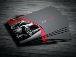 Car Card Template Download Automotive Service Business Diagnostics