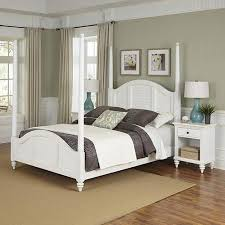 white four poster bed queen. Interesting Four Get Quotations  Home Styles Bermuda Queen Poster Bed And 2 Night Stands  White On Four T