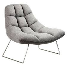 modern chair. Call To Order · Burlington Modern Lounge Chair In Light Gray G