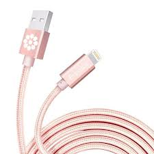 iphone 6 colors rose gold. iphone charger, rose gold cable, 6.6 feet long f-color iphone 6 colors p
