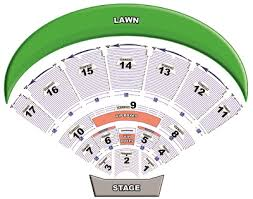 Midflorida Credit Union Amphitheatre Seating Chart With Seat Numbers Cricket Wireless Amphitheatre Online Charts Collection