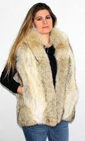 women s coyote fur vest