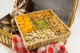all natural nut gift basket large