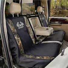 realtree camo full size bench seat