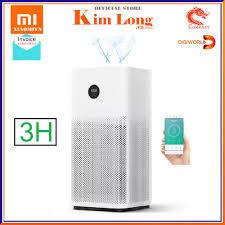 Nơi bán Máy lọc không khí Xiaomi Air Purifier 3H lọc siêu bụi mịn 0.3μm bao  gồm hạt PM 2,5 , khử mùi - Bản quốc tế - Bảo hành 12 tháng