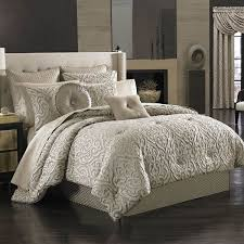 California King Bedding, View Cal King Bedding Sets, Sale on Bed Sets! & J Queen New York Astoria Comforter Set - California King - Taupe Scroll Adamdwight.com