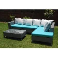outdoor wicker l shape sofa warranty