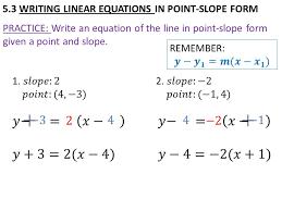 glencoe algebra 2 4 writing linear equations answers tessshlo