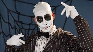 jack skellington the nightmare before makeup tutorial