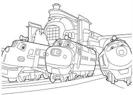 Small Picture Free Printable Chuggington Coloring Pages For Kids