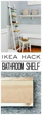 Bathroom Drawers Ikea Ikea Hack Bathroom Shelf Thistlewood Farm