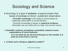 essay sociology not science edu essay