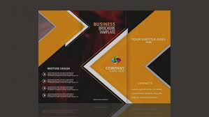 make tri fold brochure elegant create tri fold brochure design in photoshop cc by sahak