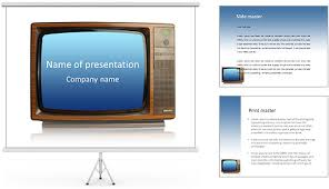tv powerpoint templates tv powerpoint template yasnc info