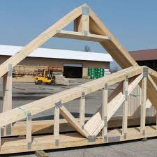 most mon types of roof trusses