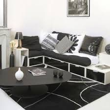 20 Inspire White And Black Endearing Black And White Living Room Decor