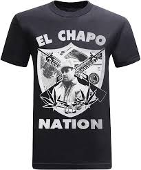 tees geek El Chapo Herren T-Shirt Nation: Amazon.de: Bekleidung