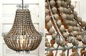 full size of elena wood bead chandelier pottery barn diy wooden chandeliers beaded dining room kitchen