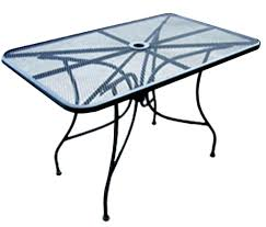patio furniture metal mesh all about furniture outdoor patio dining table x square steel mesh top