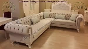 velvet chesterfield sofas corner design