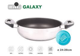 GALAXY Антипригарная сковорода-<b>сотейник</b>, <b>D 28</b> см ...