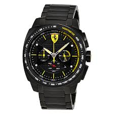 ferrari aero evo black carbon fiber pattern dial men s chronograph ferrari aero evo black carbon fiber pattern dial men s chronograph watch 830162
