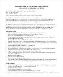 free quality control technician job description benefits analyst job description