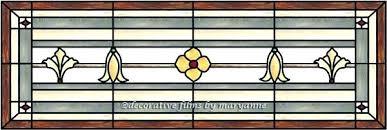 transom window for stained glass door panel decorative leaded windows leaded window w glue chip glass