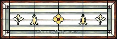 transom window for stained glass door panel decorative leaded windows leaded window w glue chip glass