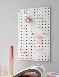White peg boards Garage Pegboard In White At Rose amp Caraterbaruinfo Wooden Peg Boards