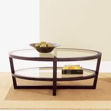 amazing oval wood coffee table