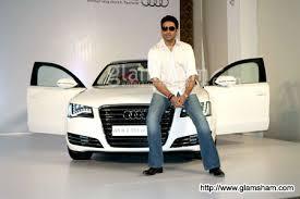 new car launches audiAbhishek Bachchan launches Audi A8  photo 1  glamshamcom