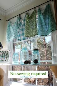 Sewing Kitchen Curtains