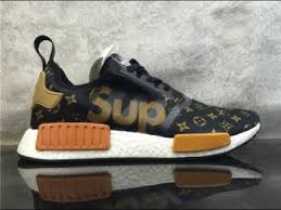 louis vuitton x adidas nmd. supreme xbrand custom made x adidas nmd r1 details hd review louis vuitton nmd