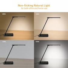 lighting wireless. Jabees LED Desk Lamp Q9 Wireless Phone Charger For Qi Charging Lighting