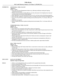 Resume For Analyst Job Real Time Analyst Resume Samples Velvet Jobs 91