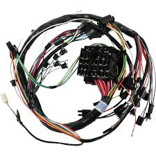 M h electric 39045 dash wiring harness 1968 gm a body w gauges