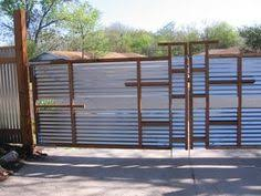 Sheet Metal Fence Vickie Howell Blog Fencing The On Design Ideas