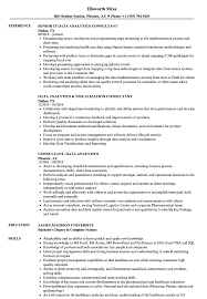 Resume For Analytics Job Consultant Data Analytics Resume Samples Velvet Jobs 12