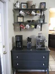 at home coffee bar idea attractive coffee bar home 4