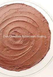 Dark Chocolate Buttercream Frosting Recipe She Wears Many Hats