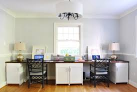 we love that it s clean and understated from afar because we someday plan to drop a huge chandelier over the huge dining table and didn t want the office