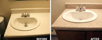 how to resurface bathroom countertops packed with spacious bathroom refinishing artistic on how to refinish to